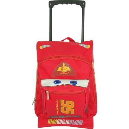 67afdf0ccd1 Ruz - Disney Cars Toddler Rolling Backpack - Walmart.com
