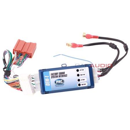 Pac Aoem Maz2 Amplifier Integration Interface For Mazda Vehicles