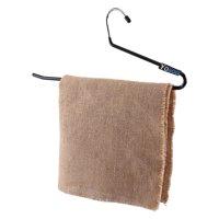 Zaqw 20-100PCS Clothes Hangers Non Slip Open End Pants Slack Dryer Towel Organiser, Trousers Clothes Hangers
