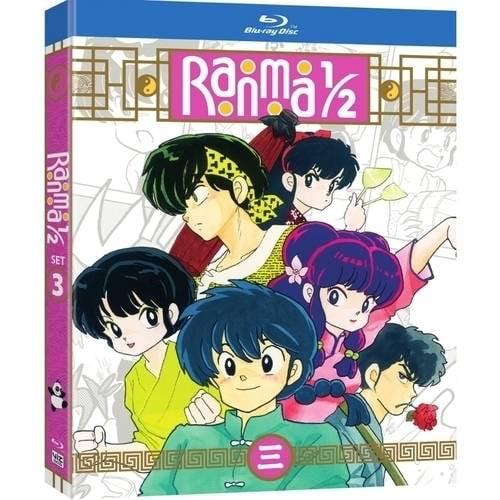 RANMA 1/2 SET 3 (BLU-RAY/3 DISC/STANDARD EDITION) (Blu-ray)