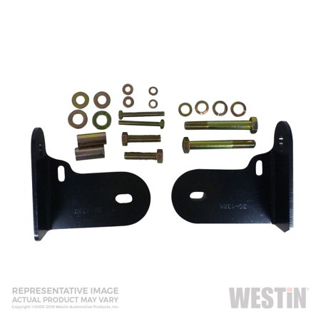 Westin 2002-2006 Honda CRV Safari Light Bar Mount Kit - Black