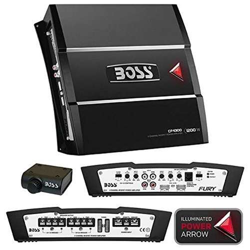 Boss CF4300 Chaos Fury 1200W 4 Channel Full Range, Class A/B Amplifier