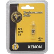 GOOD EARTH LIGHTING G4-12V10W-XBLB Xenon Replacement Lamp, 10 W, G4
