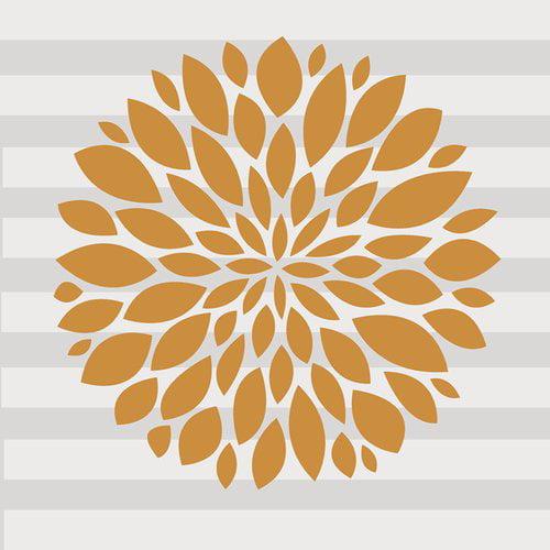 Harriet Bee Flower Vinyl Wall Decal