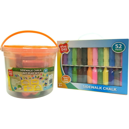 Play Day Chalk Activity (Chalk Bucket)