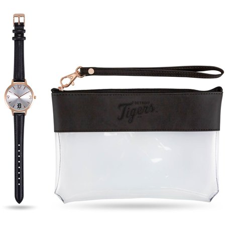 Detroit Tigers Sparo Women's Watch & Wallet Gift Set Detroit Tigers Watch