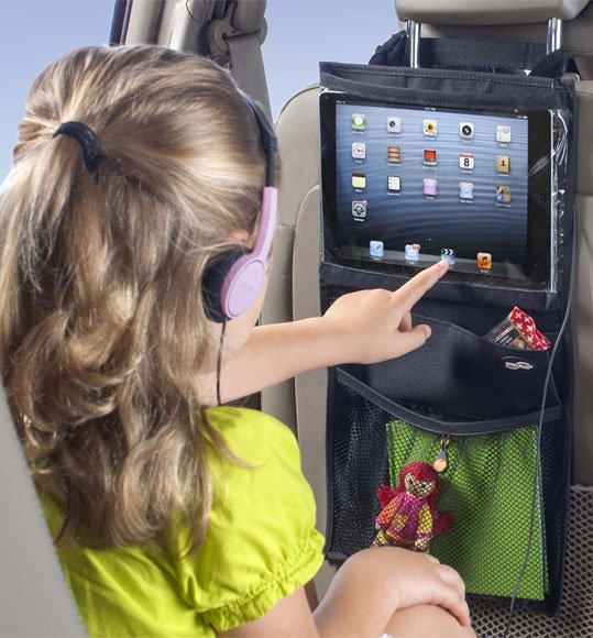 High Road Express Car Seatback Organizer and Tablet Holder