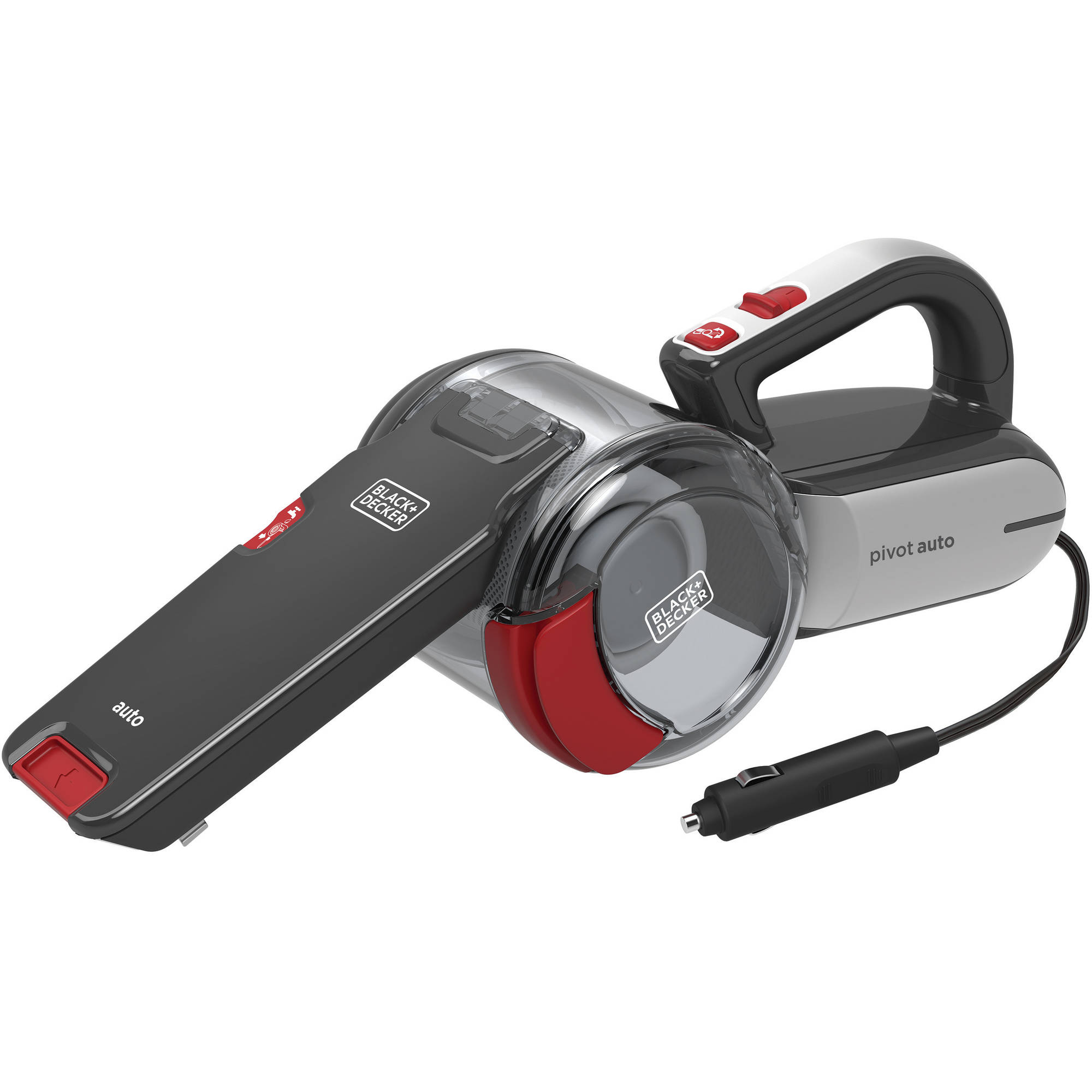 Black and Decker 12V Pivot Auto Vac, BDH1200PVAV