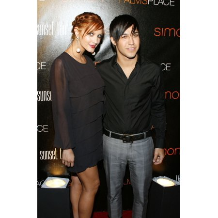 Ashlee Simpson Pete Wentz At Arrivals For Grand Opening Of Palms Place Hotel & Spa Palms Place Hotel & Spa Las Vegas Nv May 31 2008 Photo By James AtoaEverett Collection Celebrity (Opening A Spa)