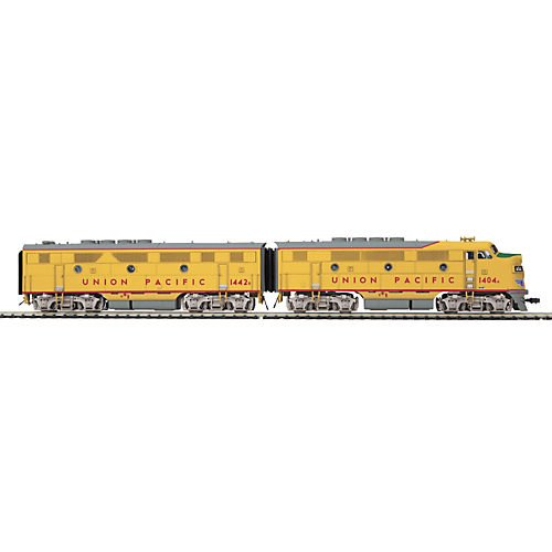 MTH Electric Trains HO F3 A/B PS3, UP #1404A Multi-Colored