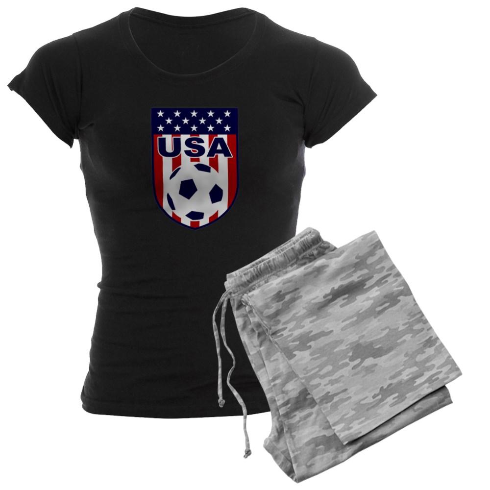 a1f2495ac4d CafePress - CafePress - USA Soccer Pajamas - Women s Dark Pajamas -  Walmart.com