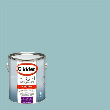 Glidden High Endurance, Interior Paint and Primer, Trattoria Teal, # 90GG - Teal Paint