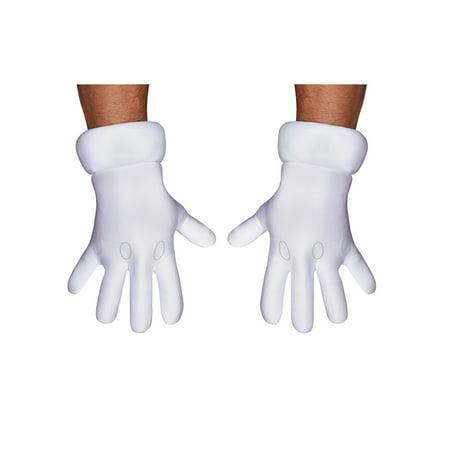 Men's Super Mario Brothers Gloves - Super Mario Gloves