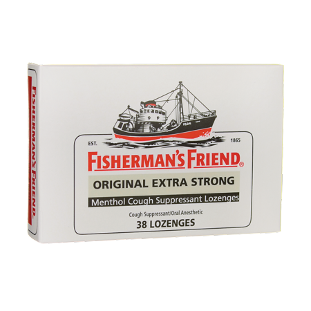 Fisherman's Friend Menthol Cough Suppressant Lozenges 38 (Best Daytime Cough Suppressant)