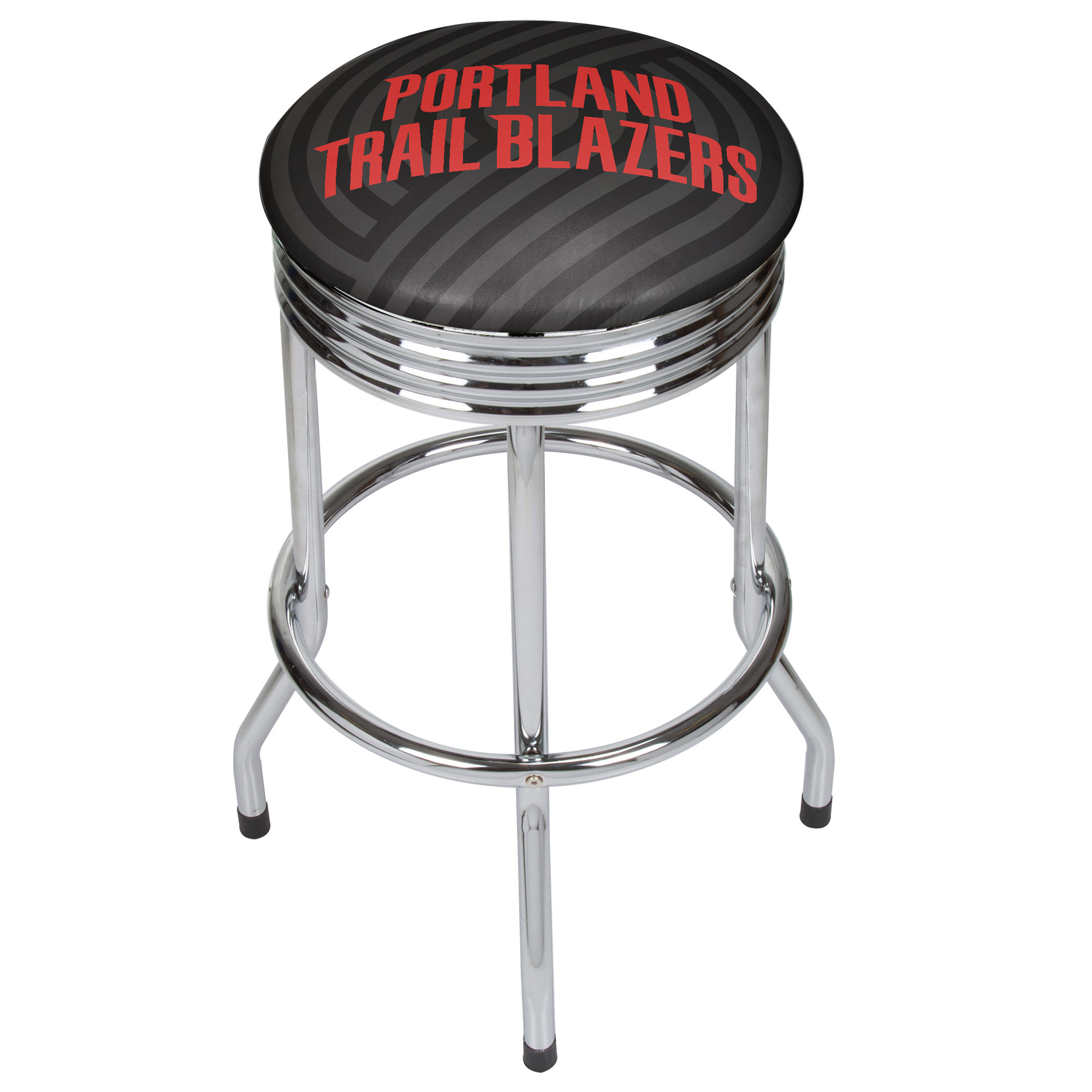NBA Chrome Ribbed Bar Stool - Fade - Portland Trailblazers