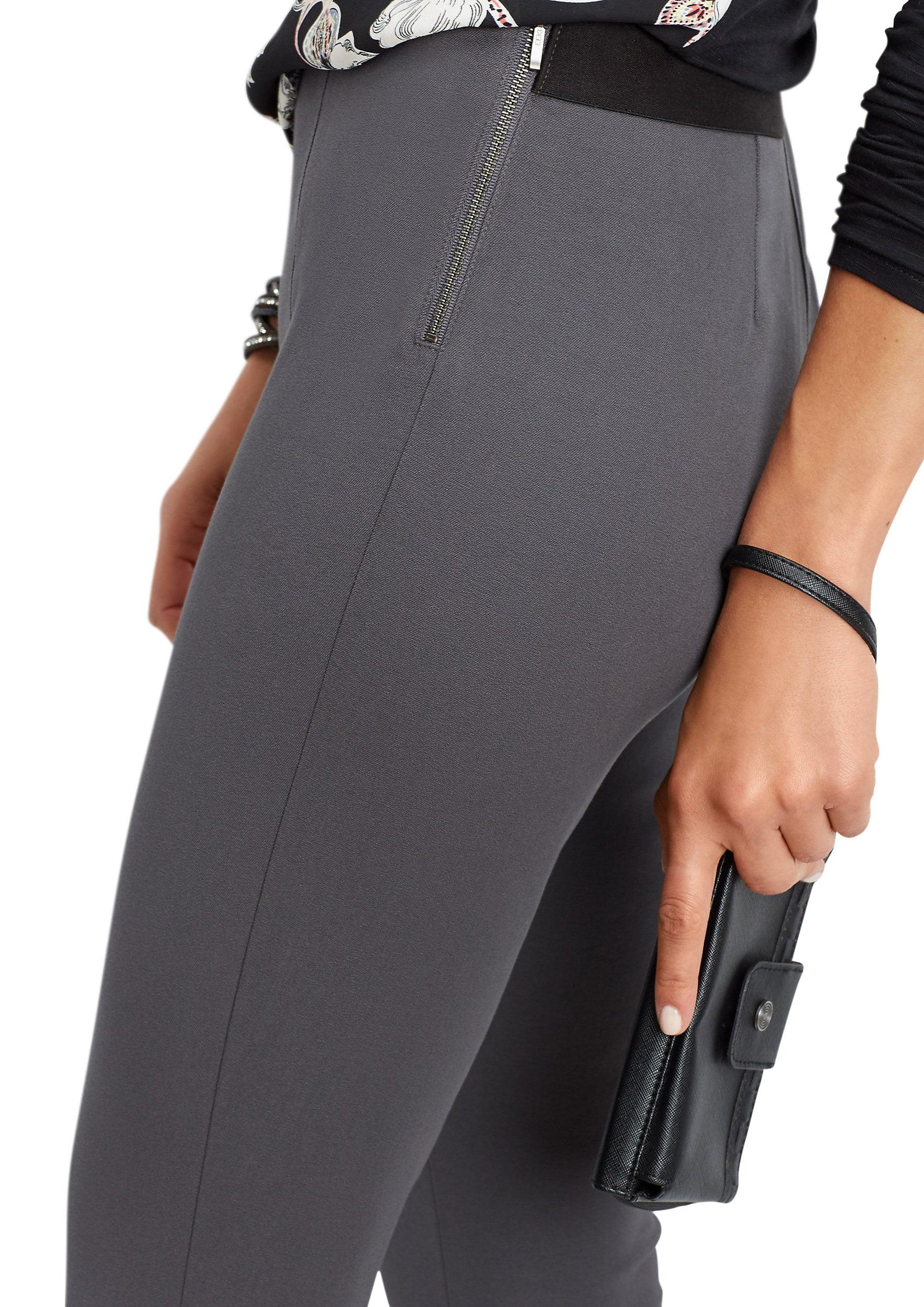 Side Zip Skinny Ankle Pant
