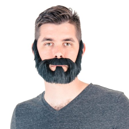 Adult Halloween Full Beard Costume Accessory - Halloween Full