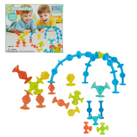 Colorful Building - KARMAS PRODUCT Children Building Blocks Colorful Security Silicone Building Toy for Girls and Boys Toddlers Intellectual education