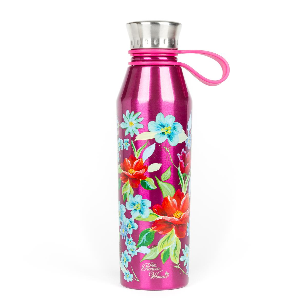 The Pioneer Woman® 18oz Double Wall Vacuum Insulated Blue Stainless Steel Water Bottle