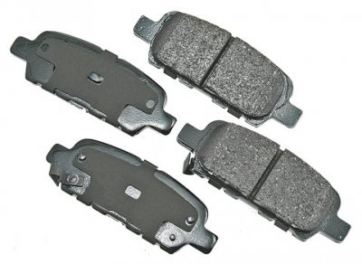 Akebono ACT1004 ProACT Ultra-Premium Ceramic Brake Pad Set