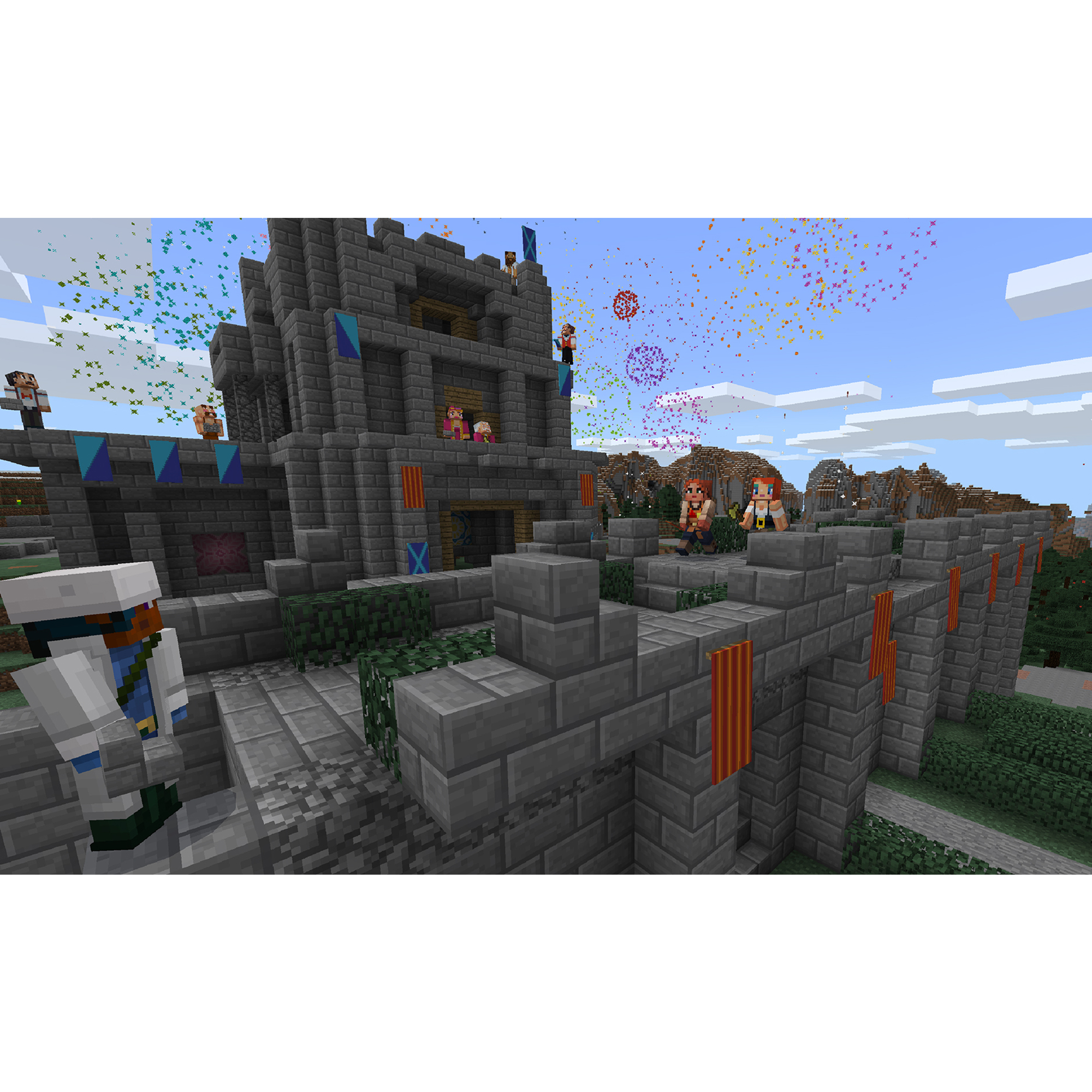 Microsoft Xbox One S 1tb Minecraft Creators Bundle White