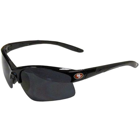 NFL Officially Licensed Team Color Blade Style Sunglasses (San Fransisco 49ers) - 49ers Sunglasses