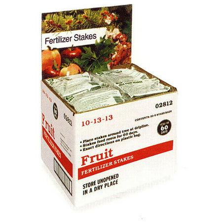 Jobes Easy Gardener 2712 160 Piece Display Domestic Fruit Tree Fertilizer 10-