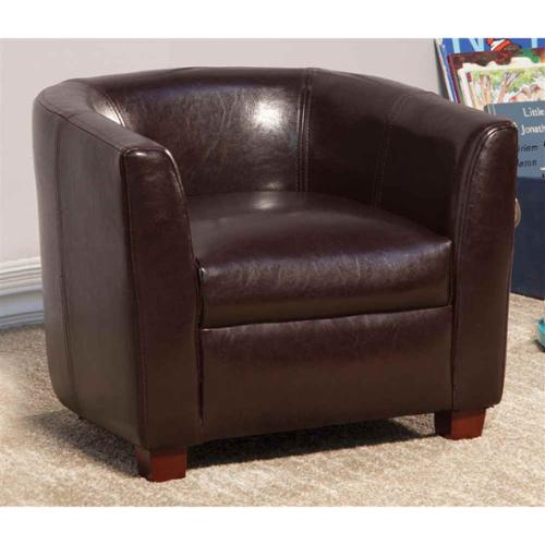 Wingback Chair in Brown