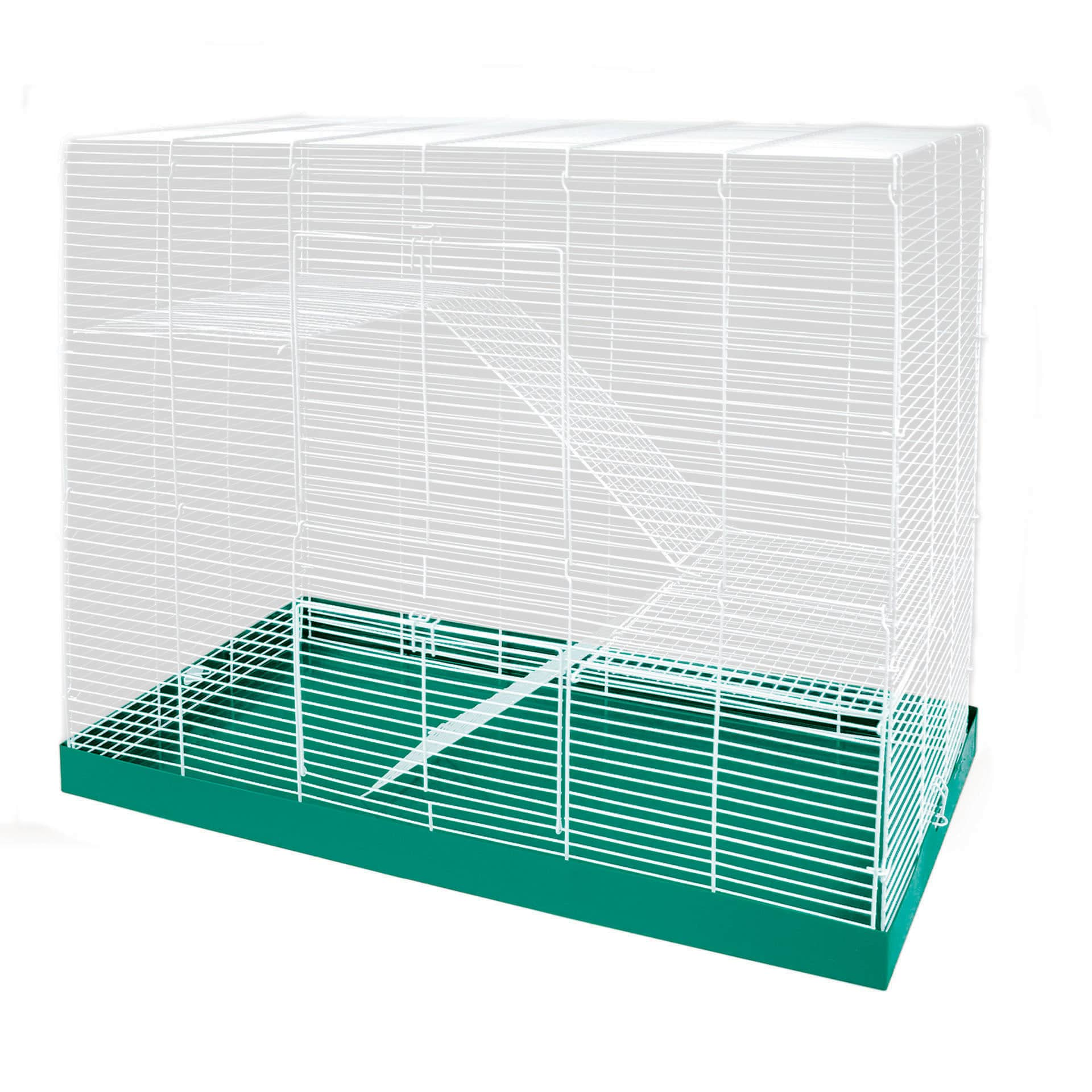 "Ware Mfg. Inc. Chew Proof 3 Level 30"" Chinchilla/Ferret/Rat Cage - green"