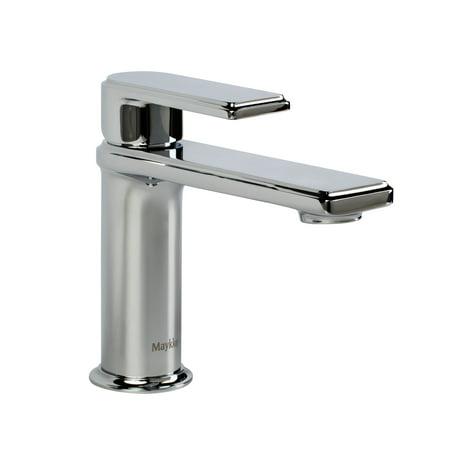 Hand Polished Chrome Trip Lever - Arminius Single Lever Faucet, Polished Chrome