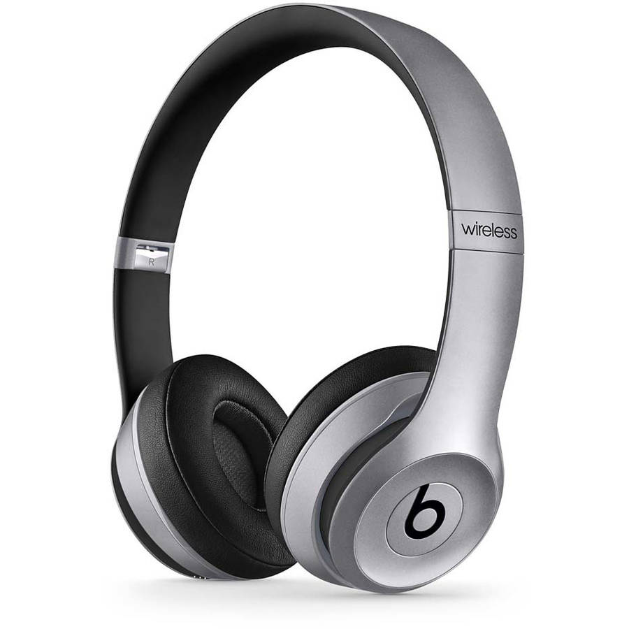 Refurbished Beats by Dr. Dre Solo2 Space Gray Over Ear Headphones MKLF2AM/A