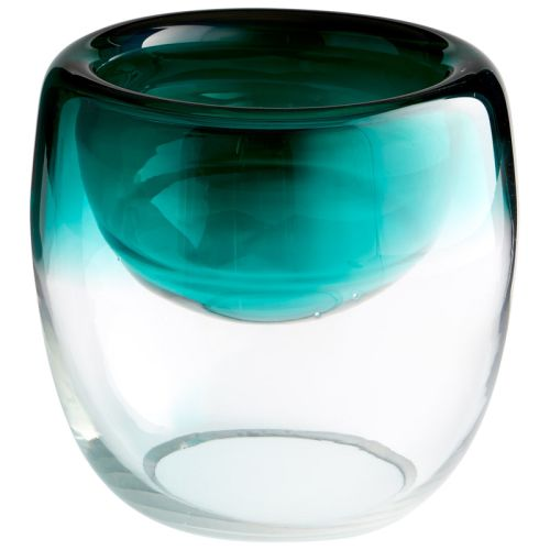 Cyan Design Large Abyssal Bowl Abyssal 8.5 Inch Diameter Glass Decorative Bowl by Cyan Design