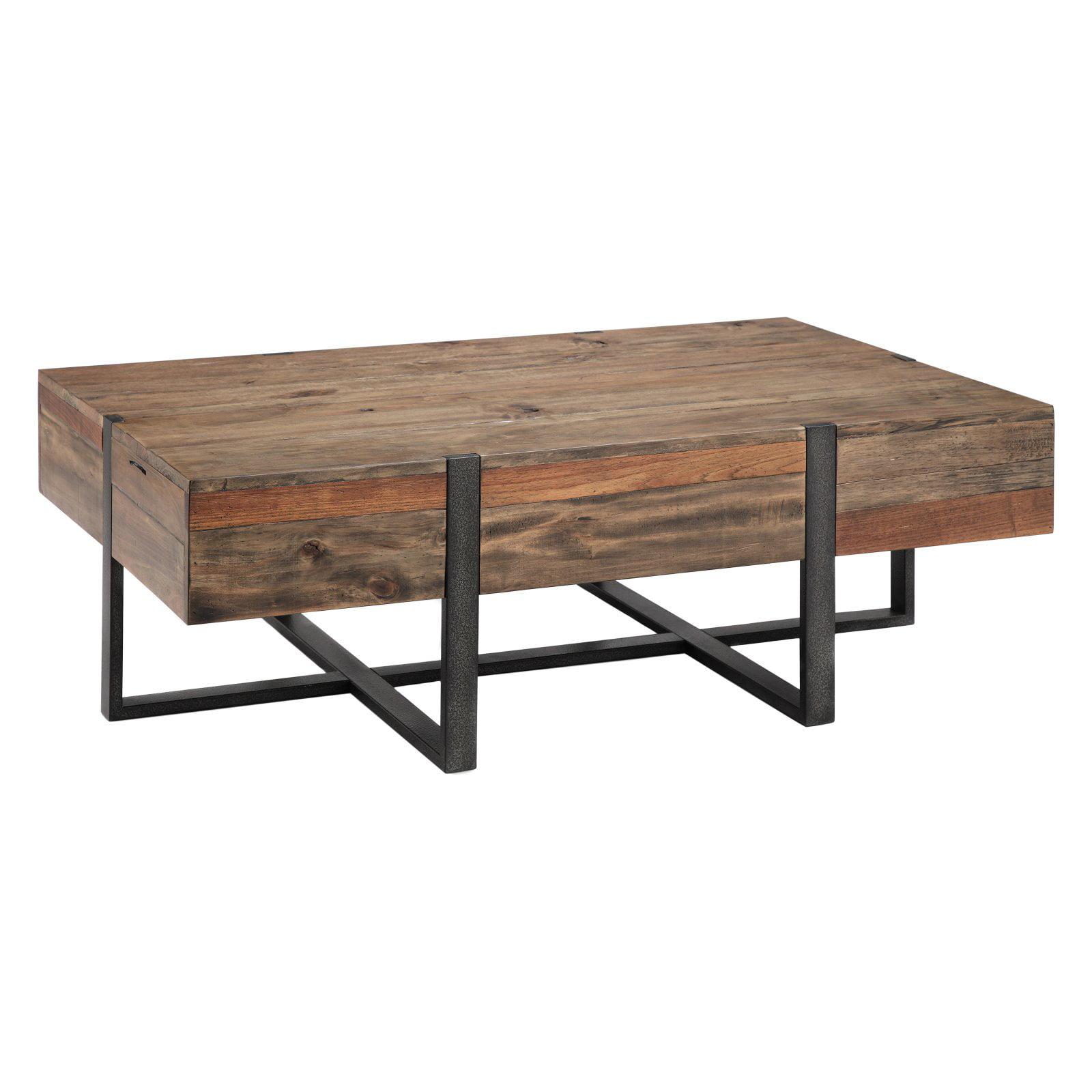 Magnussen Prescott Reclaimed Wood Rectangular Coffee Table