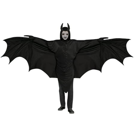 Wicked Wing Bat Men's Adult Halloween Costume, One Size, (42)