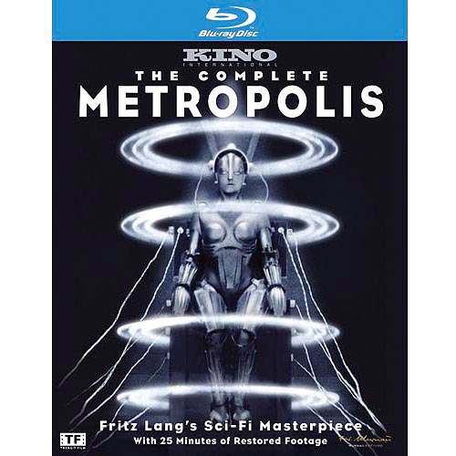 The Complete Metropolis (Silent) (Limited Edition) (Blu-ray) (Full Frame)