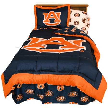 College Covers NCAA Auburn Reversible Comforter Set