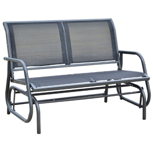 """Outsunny 48"""" Outdoor Patio Glider Bench"""