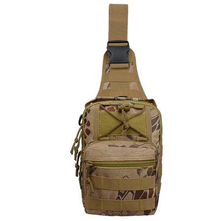 Gonex Nylon Men Military Shoulder Rucksack,Army Tactical Backpack,Sling Bag Army Duffle Bag for Sport&Tactical