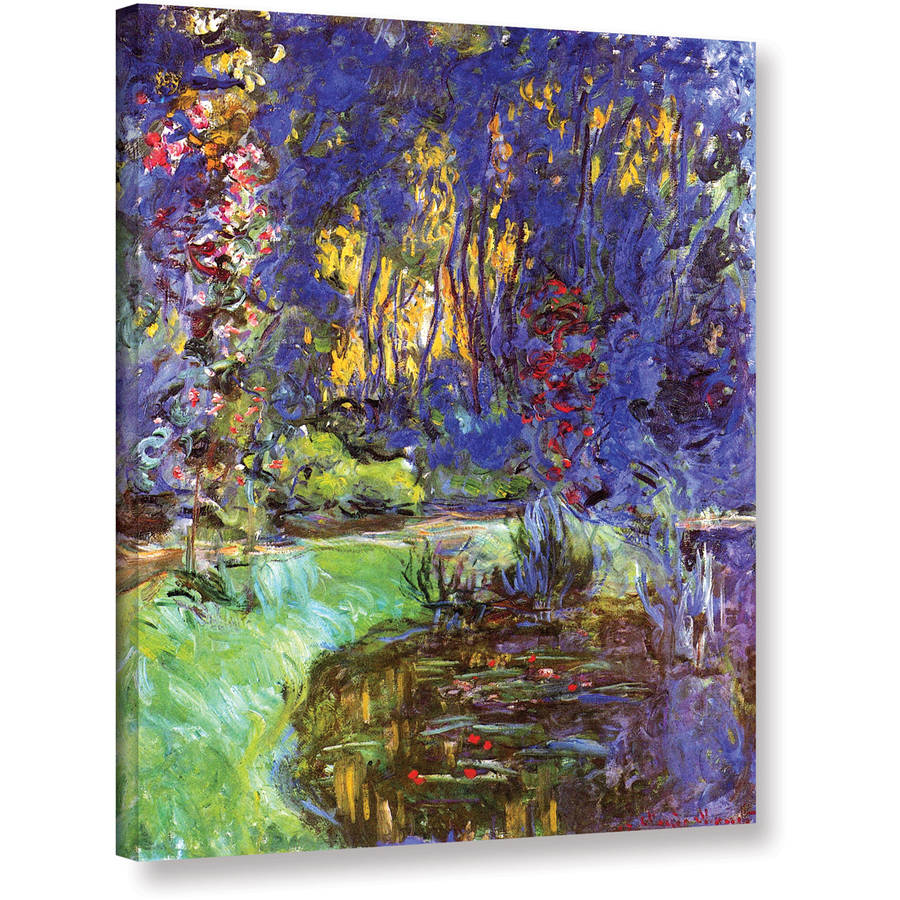 """Claude Monet """"Giverny"""" Gallery-Wrapped Canvas"""