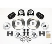 Wilwood Forged Dynalite Front Kit 11.00in 37-48 Ford Psgr. Car Spindle