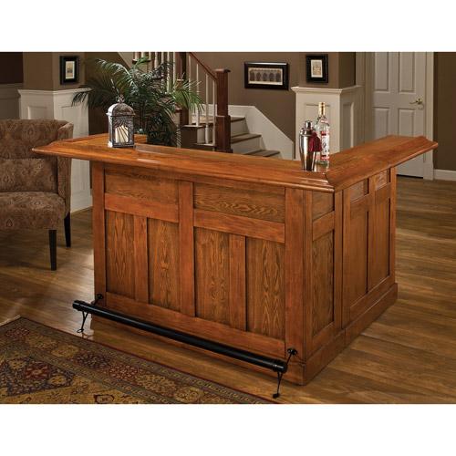 High Quality Hillsdale Furniture Classic Side Bar, Oak Finish, Carton A, Item# 62577A,