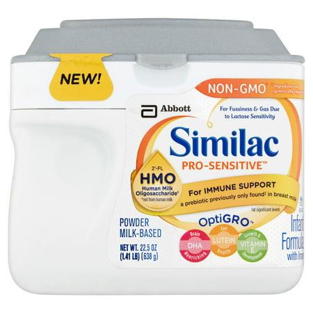 Similac Pro Sensitive Infant Formula With 2  Fl Human Milk Oligosaccharide   Hmo  For Immune Support  22 5 Ounces