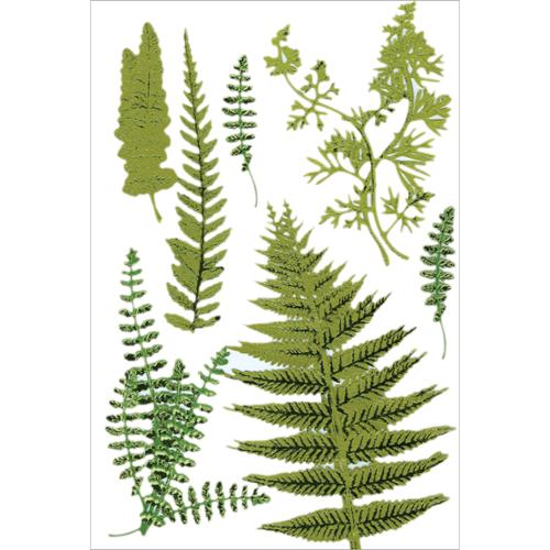 Martha Stewart Stickers-Fern