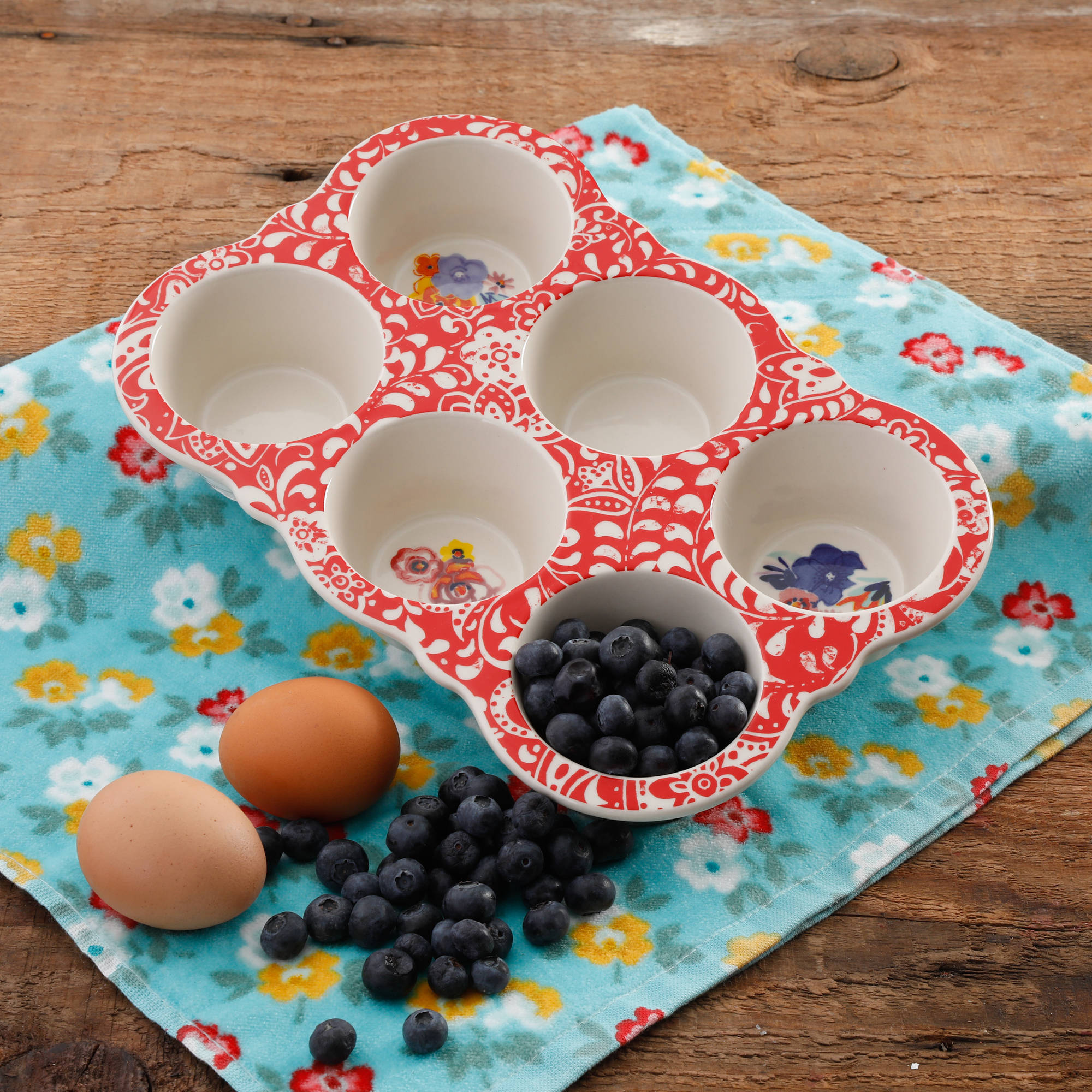The Pioneer Woman Traveling Vines Muffin Pan