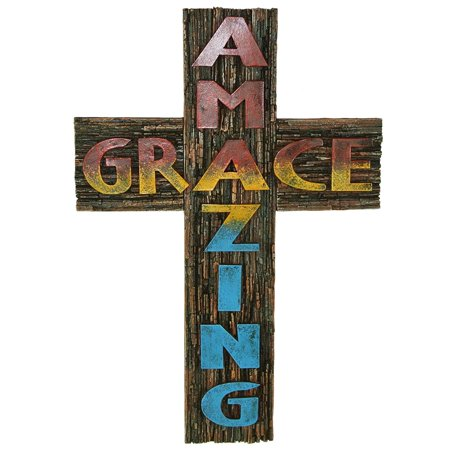 AR Country Store Amazing Grace Wall Cross