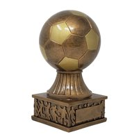 Soccer Ball Tower Trophy ⚽ Gold Fútbol Award | 7.5 Inch Tall