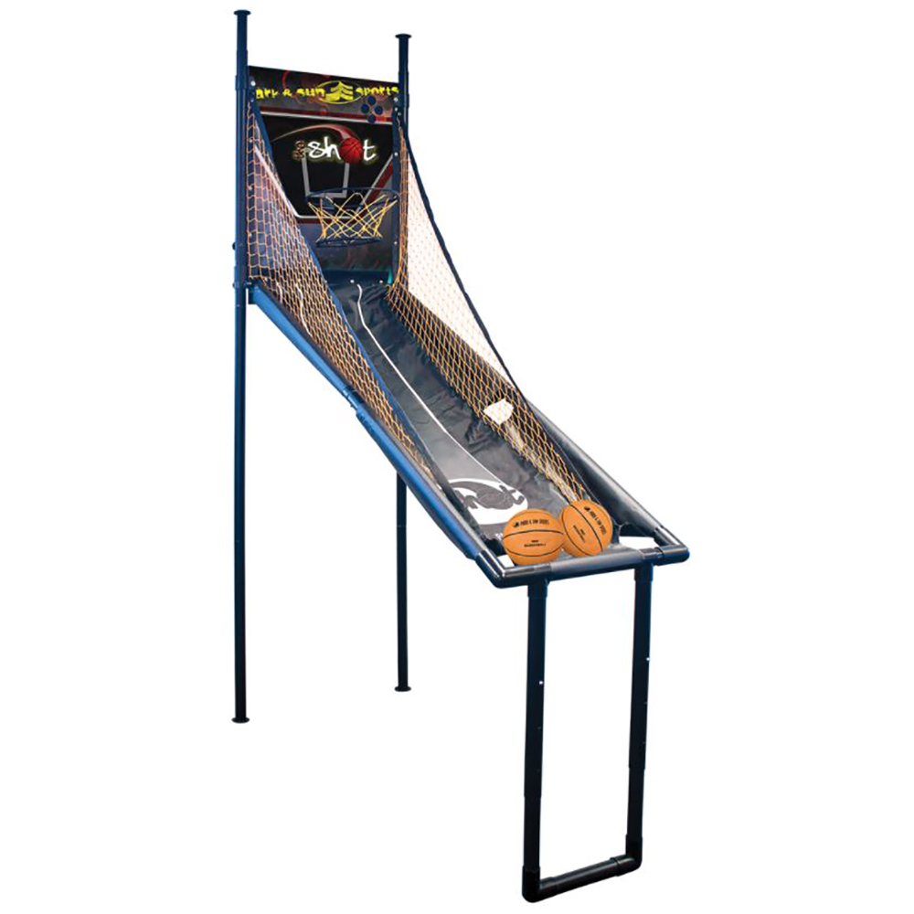 Park & Sun Sports The Shot Arcade One Player Indoor Electronic Basketball Game