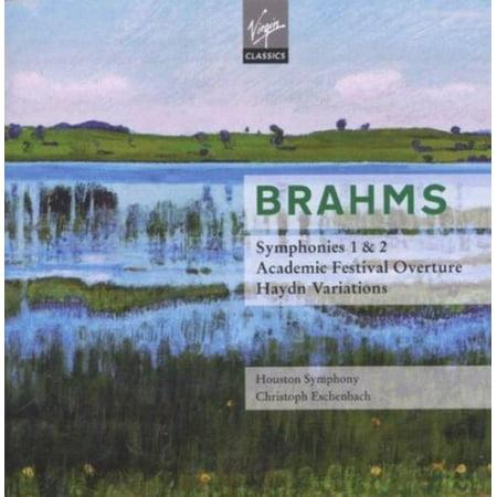 BRAHMS: SYMPHONIES NOS. 1 & 2; ACADEMIC FESTIVAL OVERTURE; HAYDN