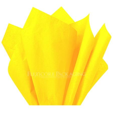 Yellow Tissue Paper, 15