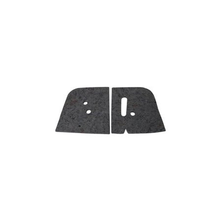 Eckler's Premier  Products 55198928 El Camino Kick Panel - El Camino Body Panels